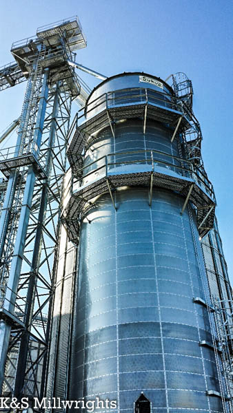 K&S Millwrights | Sukup Grain Dryers