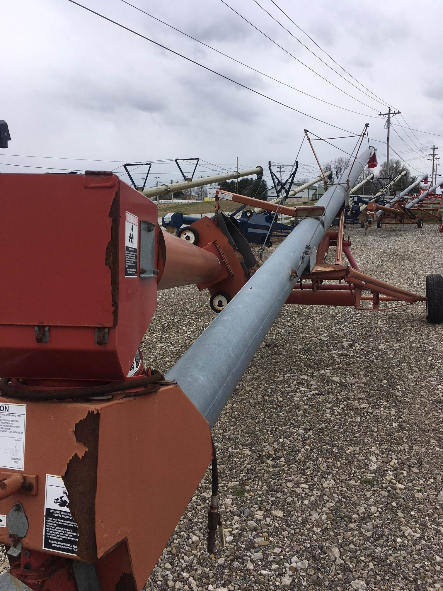 Used GSI Transport Auger